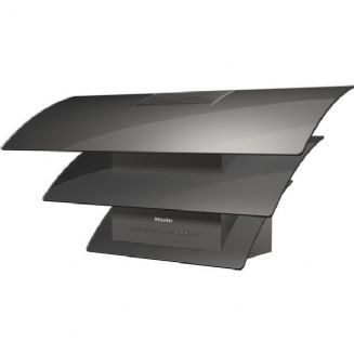 MIELE DA7198 W Graphite Grey Triple Wall mounted cooker hood | LED lighting